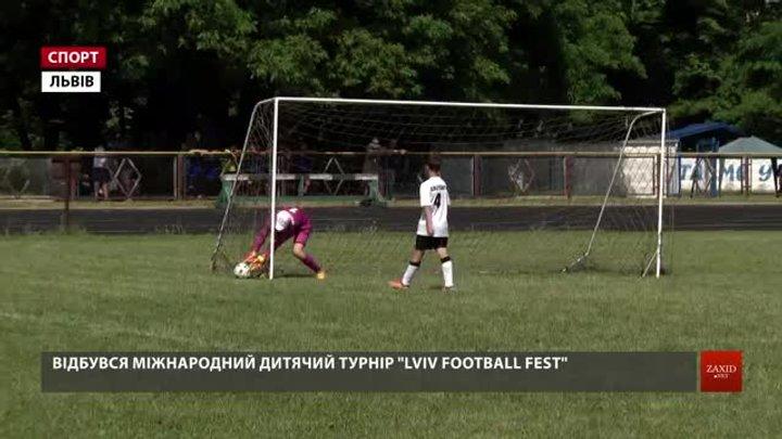 Півсотні команд позмагалися на міжнародному «Lviv football fest»