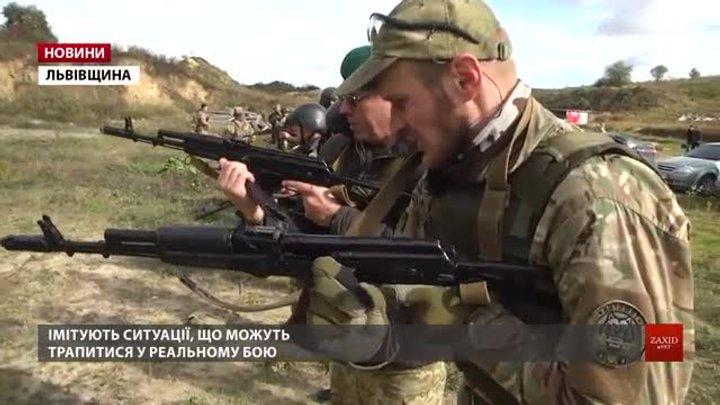 Резервісти Західної України змагались у швидкісній стрільбі