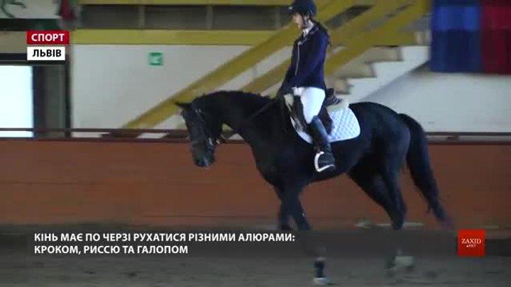 Відкритий чемпіонат Львівщини з кінного спорту стартував із виїздки