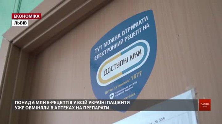 На Львівщині виписали майже півмільйона електронних рецептів