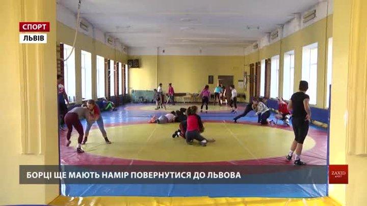 Британські борці переймали досвід у львівських однолітків на спільних тренуваннях