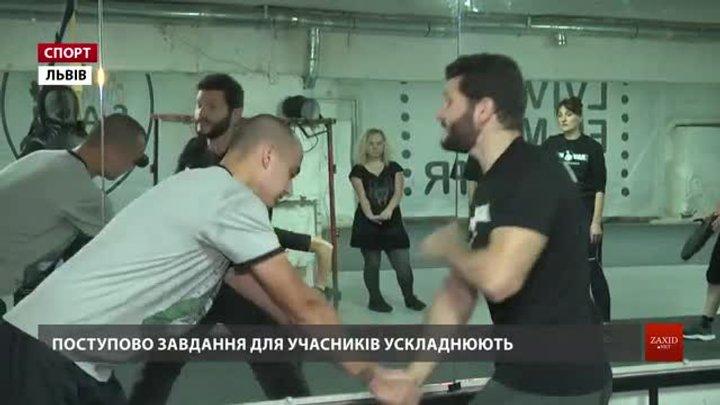 Львів'яни вчаться техніки ізраїльської системи самооборони крав мага