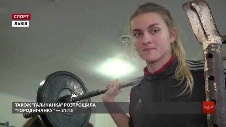 Львівська «Галичанка» здобула 3 перемоги із 3 можливих у стартовому турі Балтійської ліги