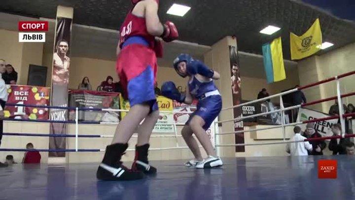 У Львові атлети боксують за місця в обласній збірній