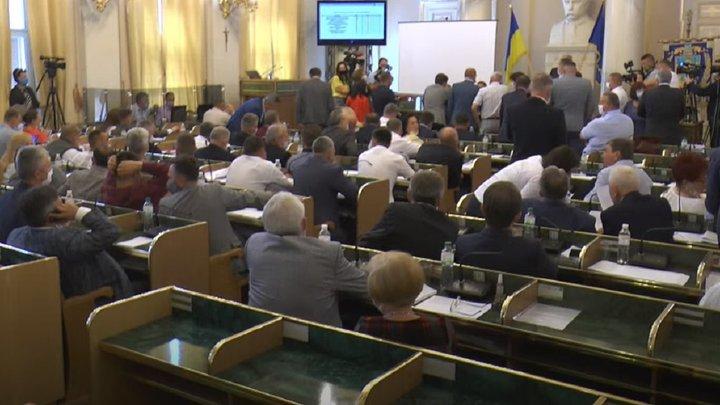 У Львівській облраді стався конфлікт під час приватизації лікарень