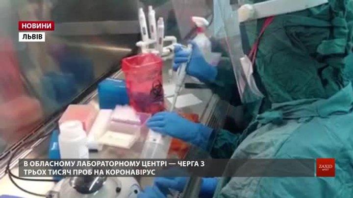 В одній із львівських лабораторій на ПЛР-дослідження очікують 3,5 тис. зразків
