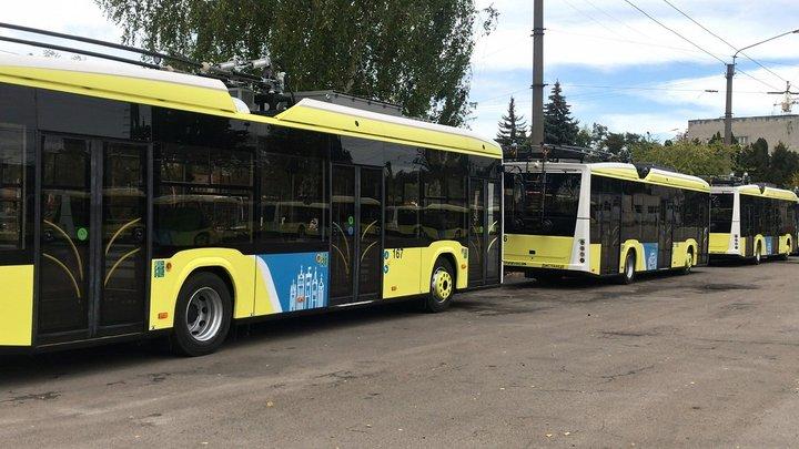Львів отримав усі 50 нових тролейбусів «Електрон»