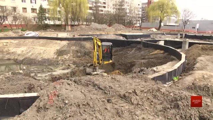 В озері на вул. Панча у Львові облаштують біоплато
